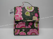 1 - Lunch Sack - Olivia Pink - 100 Authentic - Vera Bradley - Nwt