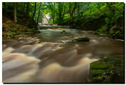 Summerhill Force/gibsons Cave Uk . 30 X 20 Canvas Waterfall Photography