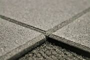 10mm Rubber Gym Tiles Fitness Flooring 1m2 Black Beveled Edges Free-weights