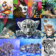 Animals Diy Paint By Number Kit Digital Oil Painting On Canvas Girl Home Decor