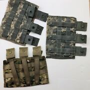 Lot Of 3 Acu Triple Mag Pouch 3x30-rd Specialty Defense - Usgi - Combat Used