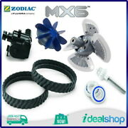 Zodiac Mx6 Pool Cleaner Factory Tune-up Kit Mx Tracks Engine Scrubber Assembly