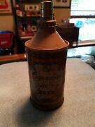 1950s Canadian Ace Peli-can Lighter Cone Top Beer Can Tavern Trove