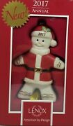 Lenox 2017 Ginger Claus Ornament 4.2 - New In Box