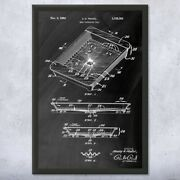 Framed Meat Packing Tray Print Culinary Gifts Restaurant Decor Kitchen Art