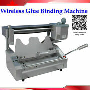 Durable Glue Binding Wireless Hot Thermal Book Machine With 1pound Glue Pellets