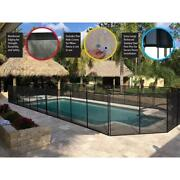 Waterwarden In-ground Pool Fence Aluminum Diy Installation With Drill Template