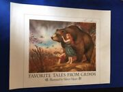 Favorite Tales From Grimm Signed Promotional Poster - Signed By Mercer Mayer