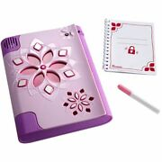 My Password Journal Voice Activated Security Invisible Ink Secret Compartment