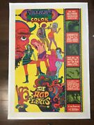 The Acid Eaters - Psychedelic 1968 Us One Sheet Movie Poster Lb