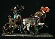 Tin Soldiers, Museum Top Egyptian Chariot Of Ramses 54 Mm, Ancient Egypt