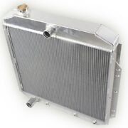 3 Rows Radiator For 1953-1956 Ford F-100 F250 F350 Pickup Truck W/ Chevy Engine
