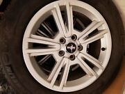 4 Sets Of Ford Mustang Oem Wheels And Michelin X-ice Snow Tires 215 / 65 R17andnbsp