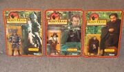 Vintage 1991 Kenner Robin Hood Lot Of 3 Figures New In The Packages