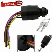 Replacement Outboard Ignition Key Switch 6 Wire For Mercury 87-88107 7-1155 Fast