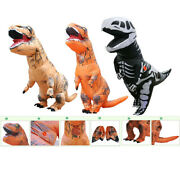 Inflatable Dinosaur Dino Adult Or Kids Costume Funny Cosplay Blow Up Mascot Suit