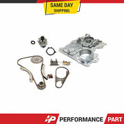 Timing Chain Kit Timing Cover Chevrolet Hummer Water Pump Fit 07-11 Gmc 2.9 3.7l
