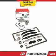 Timing Chain Kit Water Pump Fit 15-17 Ford F150 Fusion Edge Lincoln 2.7 Turbo