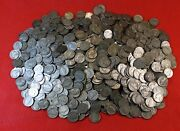 1943-s Jefferson Nickel Roll 40 Coins Circulated 35 Silver War Nickels