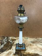 Antique 19th Century Magnificent French Enamel Gas Opaline Glass