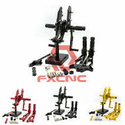 For Msx125 Grom 2016-2020 Fxcnc Racing Rearsets Footpegs Footrest Pedals