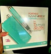 Kupa Manipro Passport Portable Nail File Drill Teal Limited Color