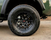 Toyota Tacoma 2020 Trd Pro Matte Black 16and039and039 Trd Pro Wheels
