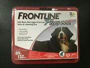 Frontline Plus Red For X-large Dogs 89 To 132 Lbs, 3 Month Supply, 7308