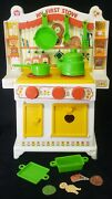 Rare Vintage 1980 Romper Room My First Stove Playset Pretend Play Kitchen And Box