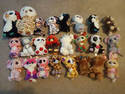 Beanie Boo Lot - 24 Assorted New - Some Claireand039s Exclusives