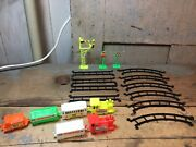 Vintage Prosperipy No. 790 Plastic Train Set Made In Hong Kong Toy