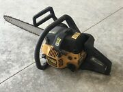 Vintage Poulan Pro 260 Chainsaw With Bar / Chain