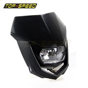 Motorcycle Enduro Streerfighter Off-road Front Headlights For Kawasaki Kx65 125
