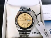 Seiko 5 Automatic Snxs91k Gold Dial Color Colectible Vintage Rare Discontinued