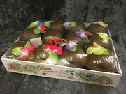 Coconut Drinking Cups Set Of 12 Luau Bbq Garden Party New Free Next Day Pandp A1
