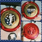 Four Queens Casino Le Silver Strike Proof Playing Cards The Joker Red Cap Htf