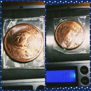 2008 Ron Paul For President Liberty Dollar Copper Round Coin Libertarian Medal