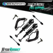 8pc Front Struts+ Upper Control Arms+ Outer Tie Rod+ Sway Bar For 02-03 Explorer