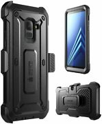 Supcase For Samsung Galaxy A8+ Plus, W/ Screen Protector Full Case Holster Cover