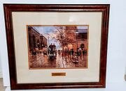 Rare French Reflections By Jack Terry Art 101/750