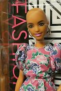 Fashionista 150 Aa New Doll Bald Barbie New Face She Is Stunning Mint Nrfb 2019