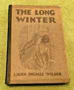 The Long Winter Hardcover Book Laura Wilder 1940 Collectible First Edition Rare