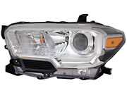 For 2019 2020 Tacoma Truck Pickup Head Light Lamp Driver Left Lh Side To2502276
