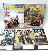 Lot Of 5 Motorcycle Magazines 2 Road Runner 3 Motorcyclist All 2016 Travel Bike