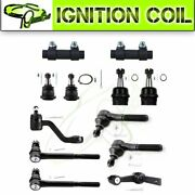 12 Piceces Steering Parts Suspension Kit Pitman Arm For 94-96 Dodge Ram 1500 2wd