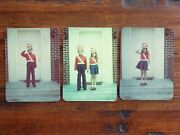 3 1950's Halloween Kodachrome Color Trick Or Treat Costume Photos And Transparency