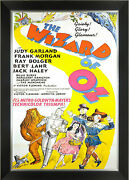 The Wizard Of Oz - Framed Classic Movie Poster Reprint