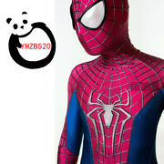 Amazing Spider-man 2 Costume High Quality Polyester Stereo Coating Line Suit New