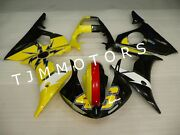 For Yzf R6 03-04/r6s 06-09 Abs Injection Mold Bodywork Fairing Kit Yellow Black
