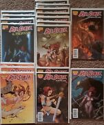 Red Sonja Lot Of 18 Unopened Perfect Comics Rare 6 Different Books New